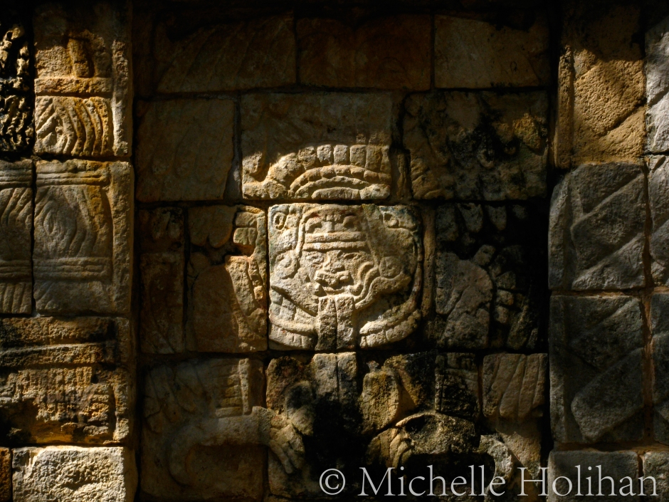 Carving at Chichen Itza